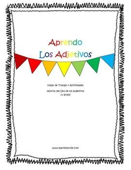 Adjective Work Packet - Los adjetivos en espanol
