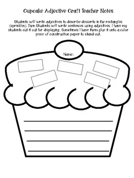 Adjective Worksheets and Taskcards