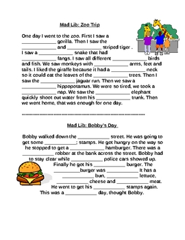 Adjective Worksheets- creative and fun!