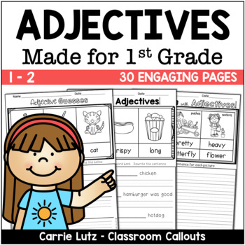 Adjective Worksheets for the Primary Grades