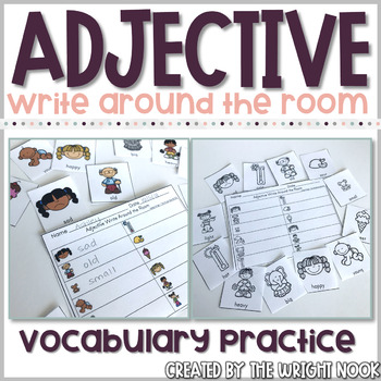 Adjective Write Around the Room