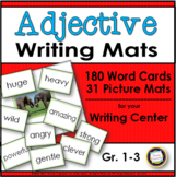 Adjective Writing Cards and Mats