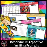 Adjective Writing Prompts   Distance Learning
