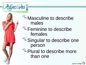 Adjective agreement people (Spanish)