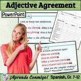 Adjective Agreement People Lesson/Practice (Spanish): Anim