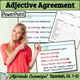 Adjective Agreement People Lesson/Practice (Spanish): Anim