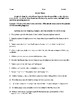 Adjective and Adverb Clauses - Informative Handouts & Exercises - CCSS Aligned