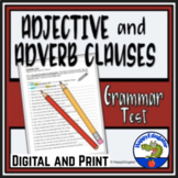 Adjective Clauses and Adverb Clauses Test