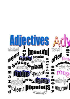 Adjective and Adverb Packet