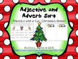 Adjective and Adverb Sort