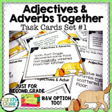 Adjectives and Adverbs Task Cards #1 - L.2.1.E