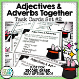 Adjectives and Adverbs Task Cards #2