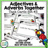 Adjective and Adverb Task Cards #3 - L.2.1.E