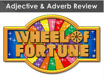 Adjective and Adverb - Wheel of Fortune