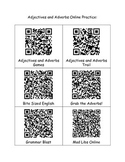 Adjective and Adverbs QR Codes