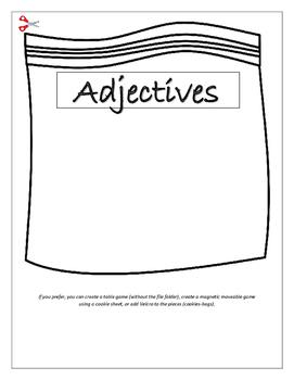 Adjective and Noun Sorting