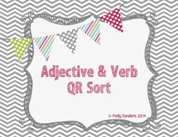 Adjective and Verb QR Sort