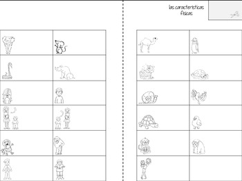 Adjectives in Spanish Vocabulary Booklet for Interactive Notebooks