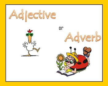 Adjective or Adverb