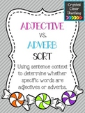 Adjective vs. Adverb Sort