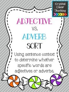 Adjective vs. Adverb Sort