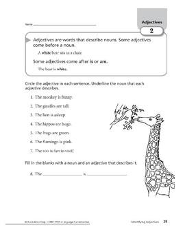Adjectives 01: Identifying Adjectives