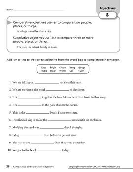 Adjectives 02: Comparative & Superlative Adjectives