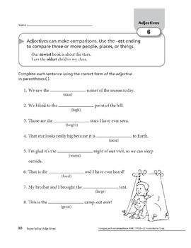 Adjectives 03: Comparative & Superlative Adjectives