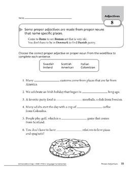 Adjectives 04: Proper Adjectives