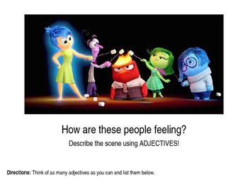 Adjectives 1-4 BUNDLE