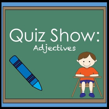Adjectives Jeopardy Review Game