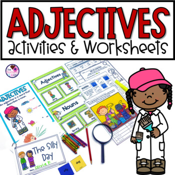 Adjectives Unit With Silly Story Activity