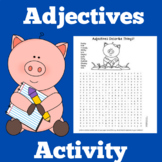 Adjectives Activity | Adjectives First Grade