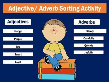 Adverbs Worksheet | Adverbs Activity | Adverbs for First Grade