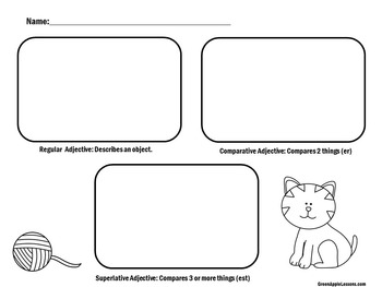Adjectives Activity | Adjectives Lesson | Adjectives First Grade