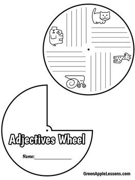Adjectives Activity | Adjectives Craft | Adjectives First Grade