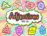 Adjectives Tell Us... (Poster/Anchor Chart)