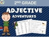 Adjective Activities - 2nd Grade Grammar - ELA