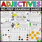 Adjectives Games {Comparative and Superlative Adjectives, Ordering Adjectives..}