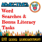 Adjectives Word Search {Set of 5}