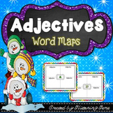 Adjectives Graphic Organizers | Winter Literacy Activity