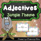 Adjectives - Graphic Organizers