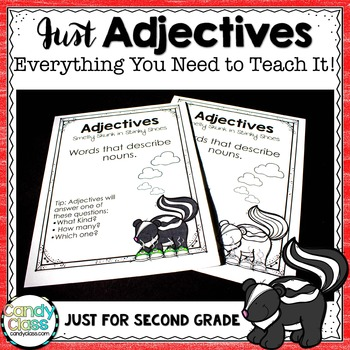 Just Adjectives - Everything You Need Unit (Lesson, Activities & Assessment)