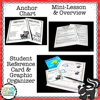 Adjective Activities & Lesson Plans: An Everything 2nd Grade Grammar Bundle