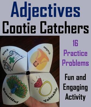 Adjectives Activity 3rd 4th Grade Grammar Games