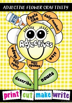 Adjectives Craft Activity