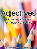 Adjectives: Activites, Games, & Posters for Upper Elementary
