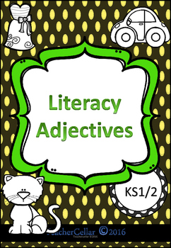 A workbook all about Adjectives