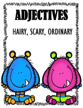 Adjectives and Monsters