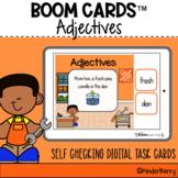 Adjectives 5 Senses Boom Cards™